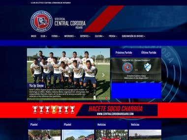 Sitio Oficial Club Atletico Central Cordoba de Rosario
