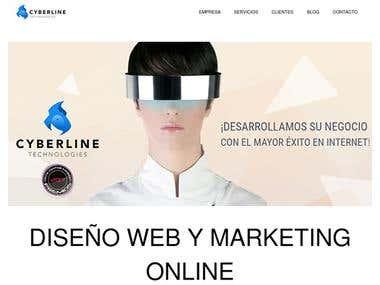 Desarrollo Web Corporativa + Seo Cyberlinetechnologies