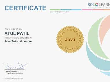 Basic JAVA Tutorial Course