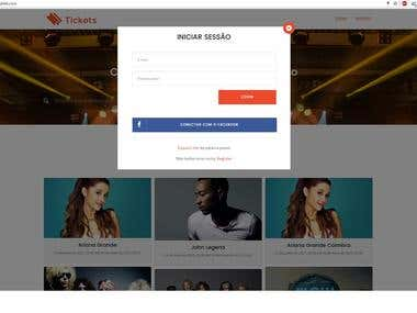 Ticket Online Marketplace builted with Laravel 5.4