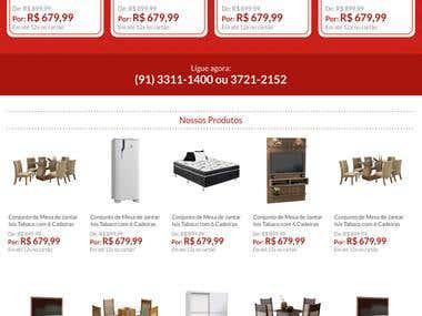 Website - Lojas Marilar