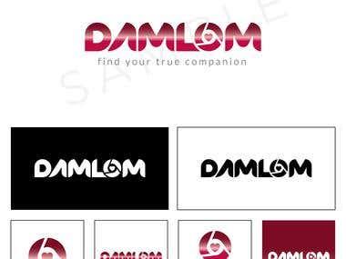 Damlom Logo