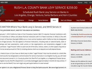 Bank Levy Services