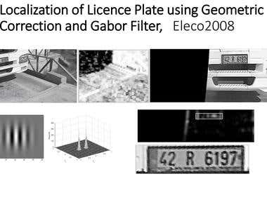 Licence Plate Localization