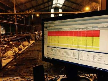 Smart Cattle Health Monitoring System with Arm + ESP8266