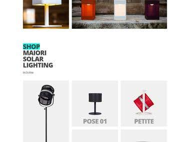 Magento - Online Solar Lighting Redefined Store