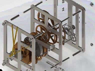 Design of a Mechanical Clock