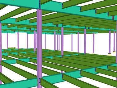 Steel Structure - Market Lofts