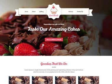Cake Website