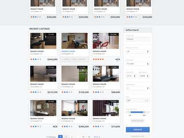 Wordpress Real Estate site with IDX