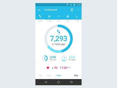 Fitness App - Daily Recorder
