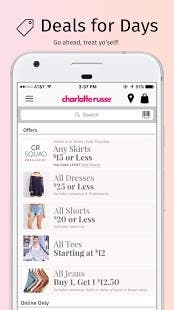 Charlotte Russe - Shopping Application