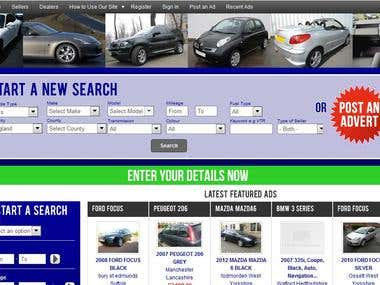Car Rental Website Smarty