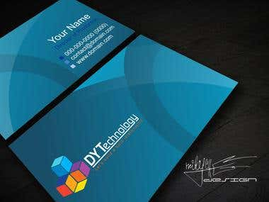 DY Technology Business card