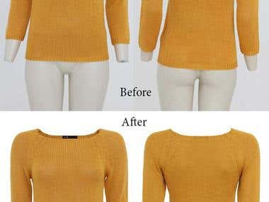 Clothes Clipping & Retouching