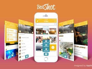 BestShot - Mobile app UI design