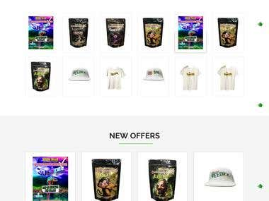 Weed Cereals - Website Design & Development