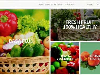 E-commerce Grocery