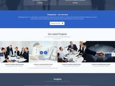 Telecom website