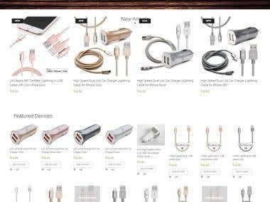 Magento - Mobile Accessories Shop