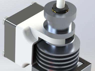 Design and experimentation of all metal hot-end