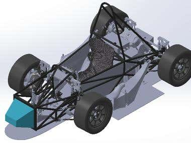 Development of a vehicle chassis
