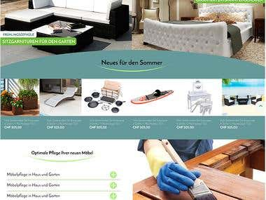 Expertdeal suiss web landing page