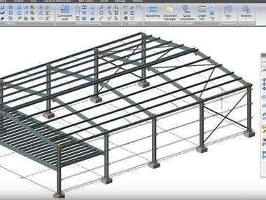 Advance Steel 3D Model