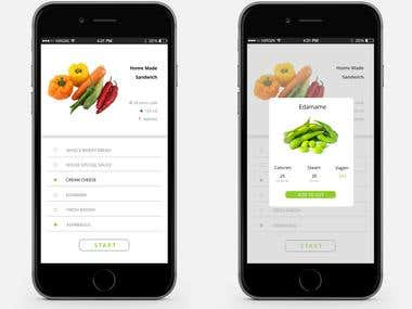 Food App UI(IOS)