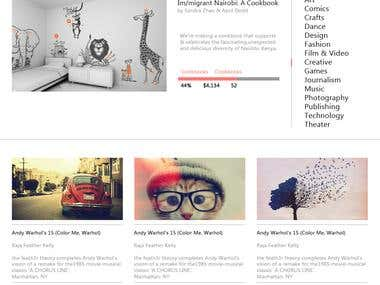 Web-page & Web-Template