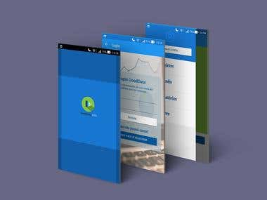 Aplicativo Mobile para Android e iOS GoodData