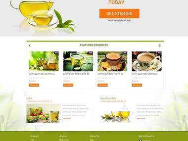 Website Design (PSD, PSD to HTML)