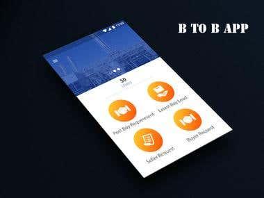 B to B app
