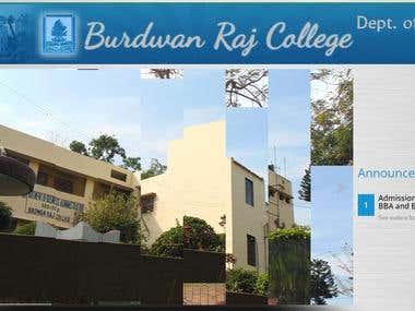 Burdwan Raj College BBa BCA dept