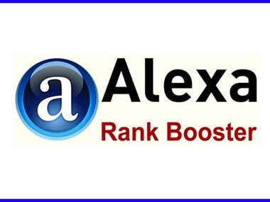 I can provide 3 Affordable Alexa Rank Booster Packages