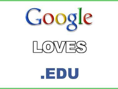 Get 1000 . EDU Backlinks - Dominate The Search Engines