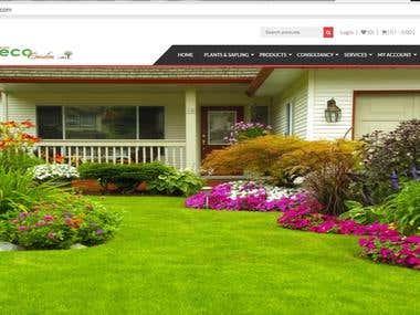 Wordpress e-Commerce(Burdwan Eco Garden)