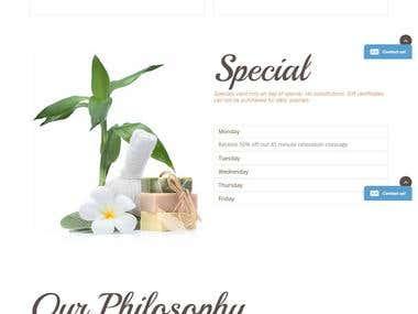 www.nanaimopurespa.ca -- A WordPress Website.