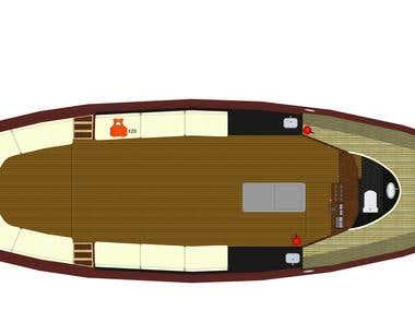 Boat Floor Planning