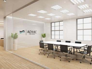 Advic Office Mockup