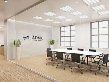 Advic Office Mockup