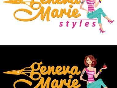 Logo for Geneva Marie styles