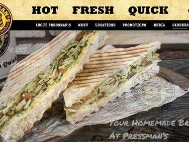 Home Pressmans Pressed Sandwiches Dubai