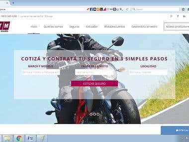Bike Insurance online (http://www.atmseguros.com.ar/)