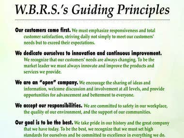 Poster - Guiding Principles for Waste Beneficial Resources