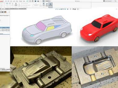 Toy Car Mold