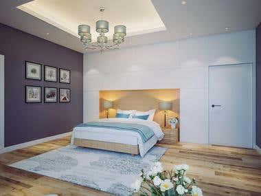 MODERN BEDROOM IN UAE