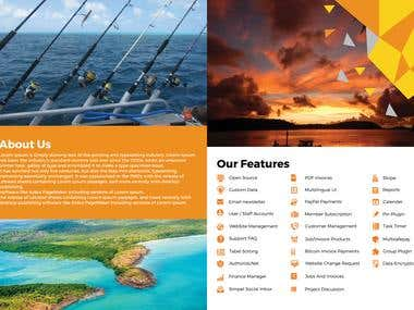 Brochure For Fishing