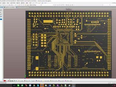 S3C6410 CPU board PCB