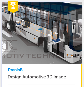 Design Automotive 3D Image